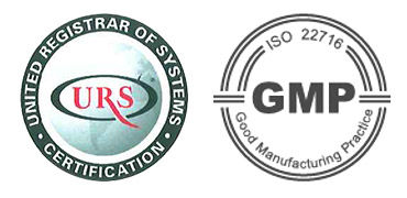 GMP and ISO certifications